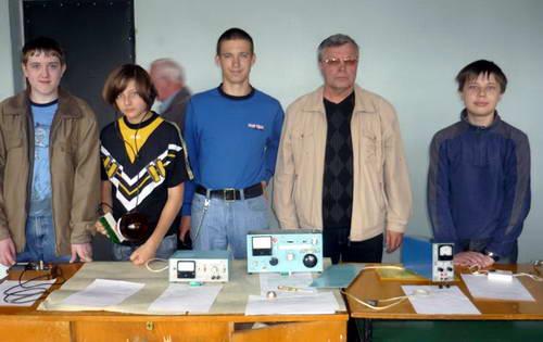 Кондратьев Владимир Николаевич со своими воспитанниками