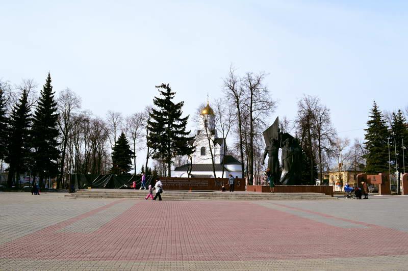 Мемориал на площади Победы