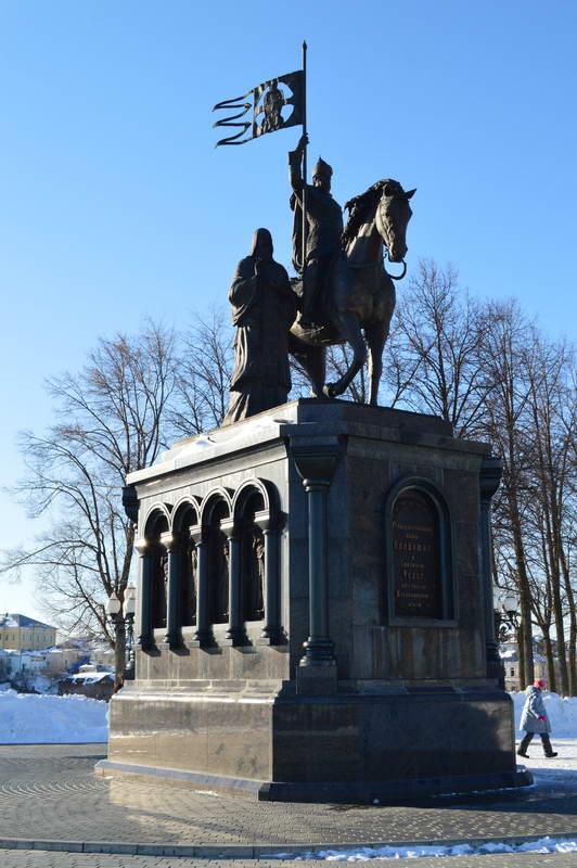 Памятник Равноапостольному князю Владимиру и Святителю Фёдору