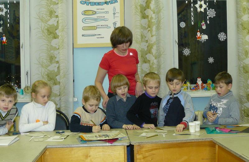 Галина Сергеевна со своими воспитанниками